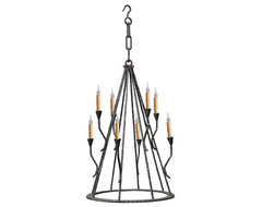 Hand Made Iron Chandelier Designs eclectic-chandeliers