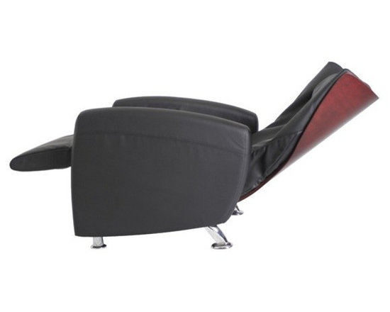 Omega Skyline Zero Gravity Massage Chair - The Omega Skyline Zero Gravity Massage Chair is a sleek massage chair that brings sophistication and elegance to any room. It has a beautiful wood chair back cover that is perfect for your decorating and styling needs. This recliner is excellent for both relaxation and for providing relief for your body.