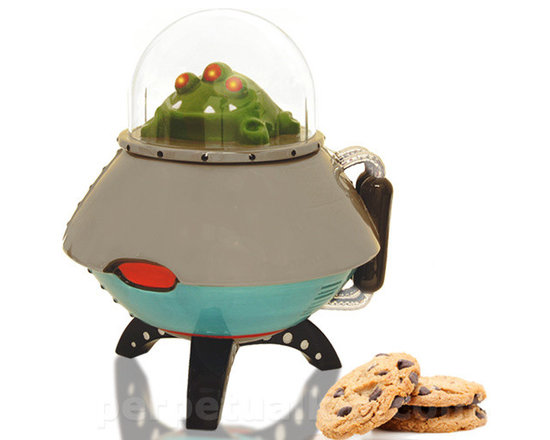 UFO Cookie Jar -