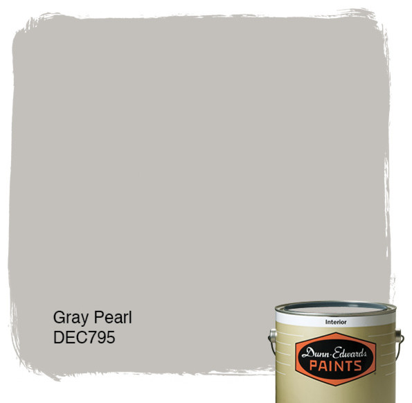 Dunn-Edwards Paints Gray Pearl DEC795 paint