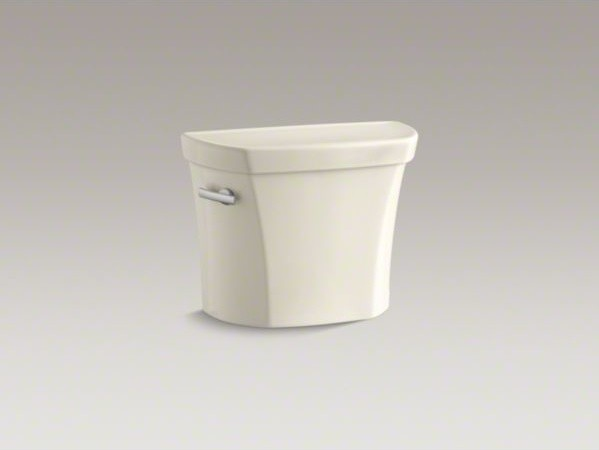 KOHLER Wellworth(R) 1.28 gpf tank with Insuliner(R) tank liner and locks contemporary-toilets