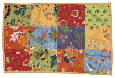 Botanical Tea Towels eclectic-dish-towels