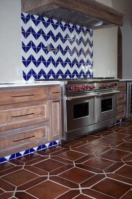 Mexican Tile mediterranean-kitchen