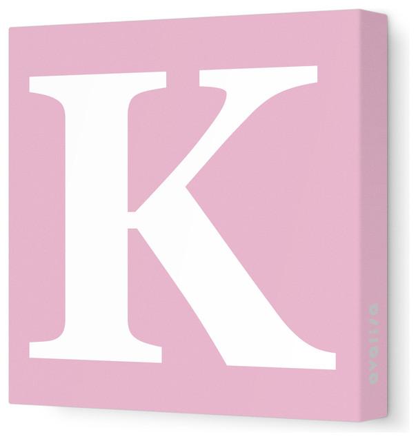 K Letter Images In Pink Letter - Upper Case  K