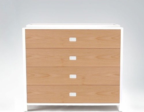 Campaign Four-Drawer Changing Table modern-changing-tables
