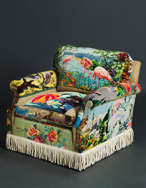 Eclectic Armchairs And Accent Chairs by Suzie-Stanford