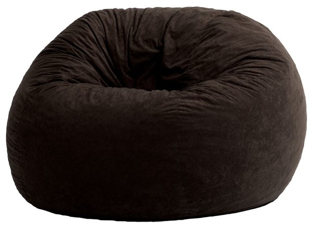 comfort research 4 foot large fuf chair comfort suede