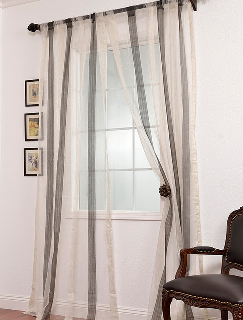 Voile Sheer Curtains - Rooms