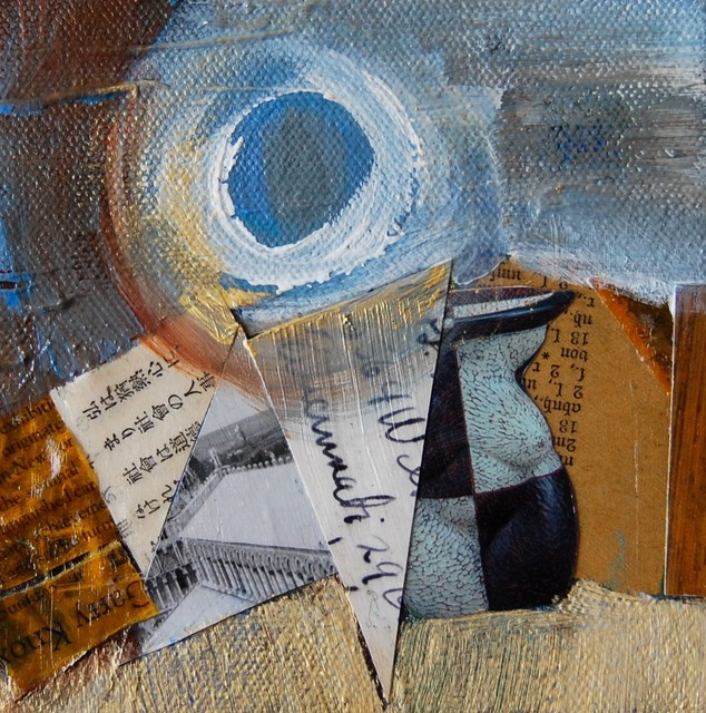 A Day At The Beach, Original, Mixed Media contemporary-paintings
