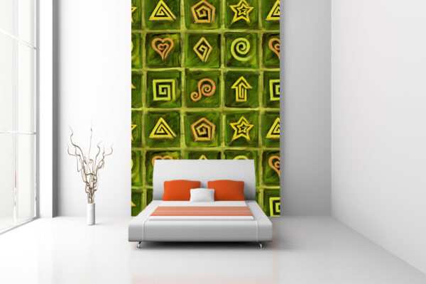 Easy Peel n Stick Wallcover Wallskins-  YOUR WALLS,  UNDERCOVER wall-decals
