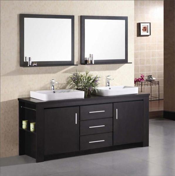 ... Houzz Bathroom Vanity Units By Double Sink Vanity Set Traditional  Bathroom Vanity ...