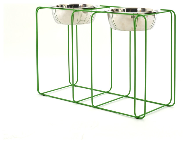 Wire and Dine, Large contemporary-pet-bowls-and-feeding