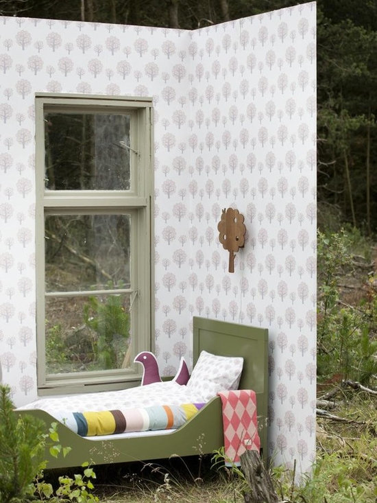 Ferm Living Dotty Rose Wallpaper - Ferm Living's Wallpaper is graphic & whimsical adding character, charm and personality to any room. Wallpaper has a striking effect and will without a doubt turn your room into a sanctuary.