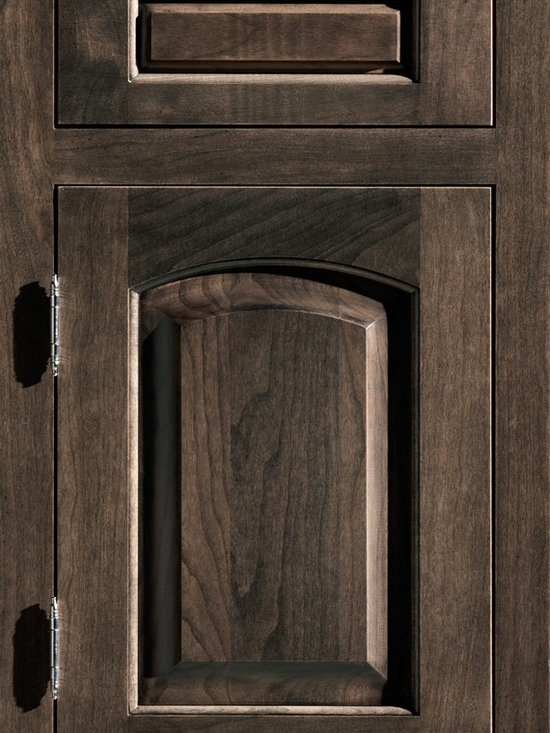 """Dura Supreme Cabinetry - Dura Supreme Cabinetry Hampton Classic Inset cabinet Door Style - Dura Supreme Cabinetry """"Hampton Classic"""" inset cabinet door style in Cherry shown with Dura Supreme's """"Caraway"""" finish. (With non-beaded frame)"""