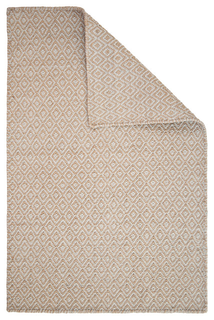 Shelbourne Taupe/Grey Eco Cotton Rug contemporary-area-rugs