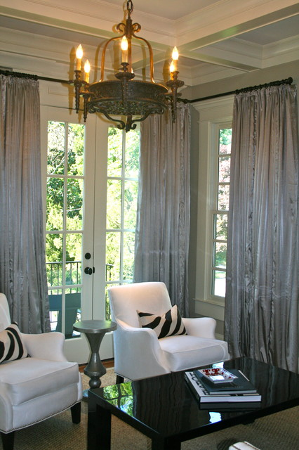 Best Dining Room Drapes Pictures House Design Interior
