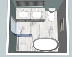 Bathroom layout help for Bathroom designs 8x8