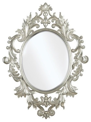 Louis Wall Mirror - 15.75W x 19.5H in. traditional-mirrors