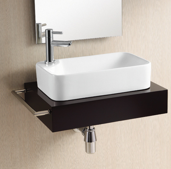 Small Rectangular Vessel Sink : Modern Rectangular Vessel Sink by Caracalla - Modern - Bathroom Sinks ...