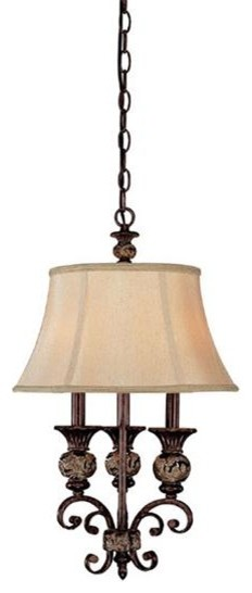 Capital Lighting 3521CB-441 3 Light Mini Pendant Manchester Collection chandeliers