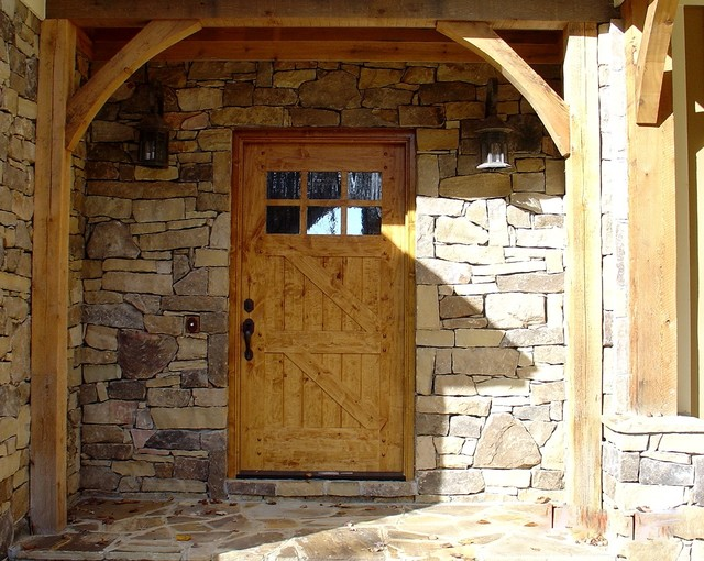Timber Frame traditional exterior