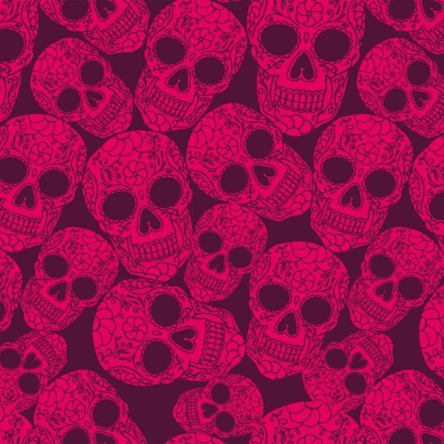 Sugar Skull Plum Wallpaper Tiles Contemporary HD Wallpapers Download Free Images Wallpaper [1000image.com]