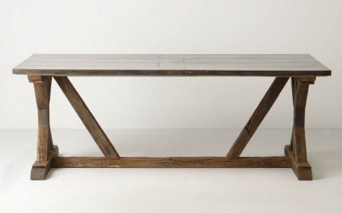 Modern Farmhouse Table Traditional Dining Tables by Anthropologie
