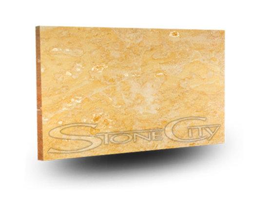 Golden Real Limestone Slab -