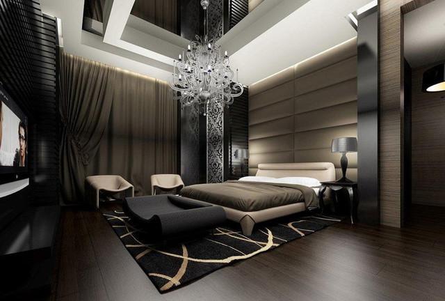 Modern modern-bedroom