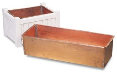 Planter Liner Boxes traditional-outdoor-planters
