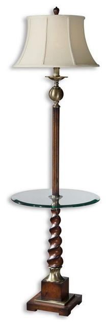 Uttermost 28568  Myron Twist End Table Floor Lamp transitional-floor-lamps