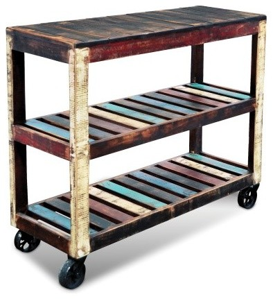 ... Sideboard / Multi Use Cabinet - Rustic - Bookcases - by Kashif Humayun