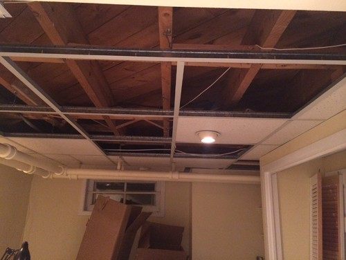Drop Ceiling Vs Bare