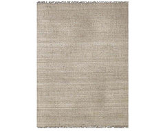 Hand-Woven Bleached Jute Rug contemporary-rugs