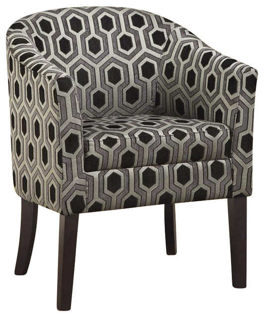 Coaster Club Chair in Chenille transitional-armchairs-and-accent-chairs