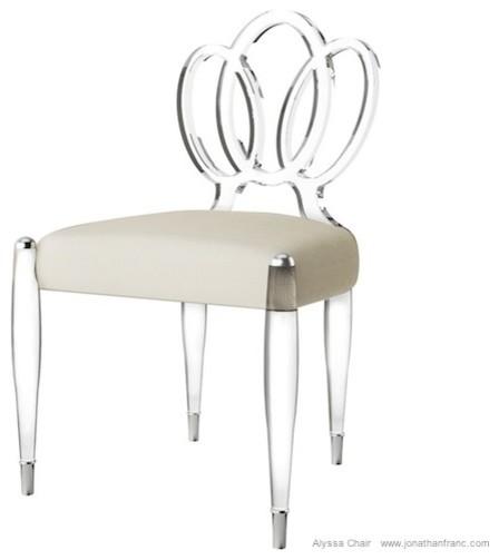 ALYSSA ACRYLIC CHAIR by Jonathan Franc Modern  : modern chairs from www.houzz.com size 448 x 503 jpeg 19kB