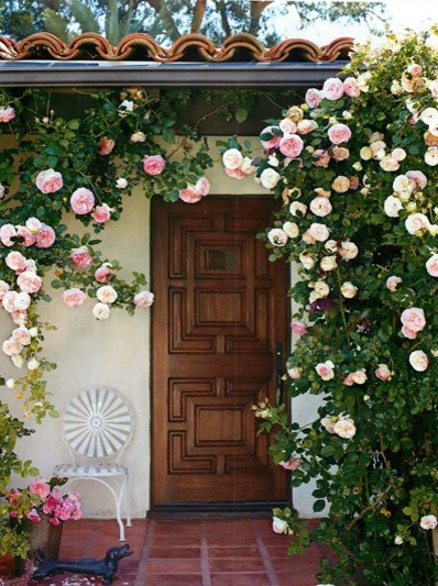 front door mediterranean entry