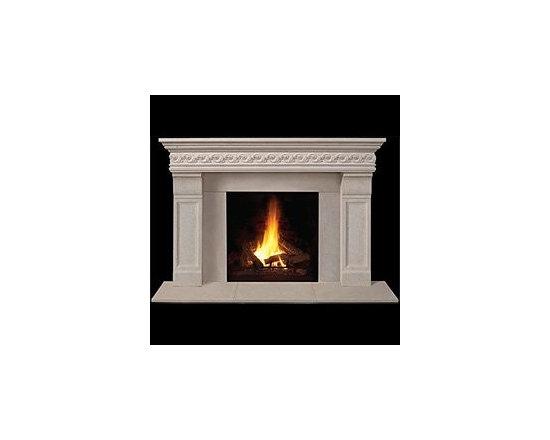 Taunton Stone Fireplace Mantel -