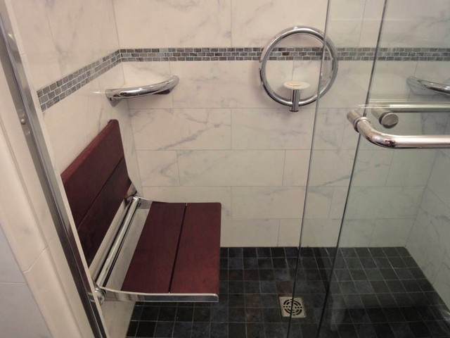 Aging-In-Place Home Modifications contemporary-bathroom
