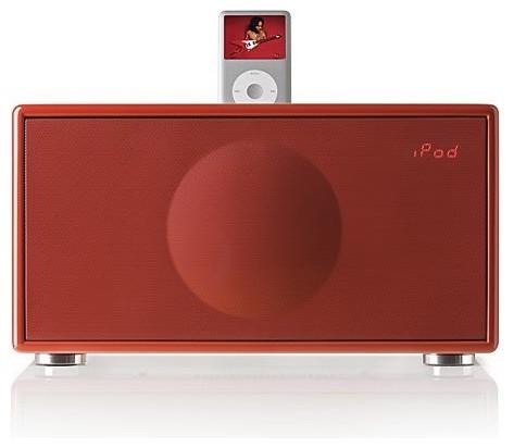 GenevaSound Medium iPod Speaker - Frontgate modern-home-electronics