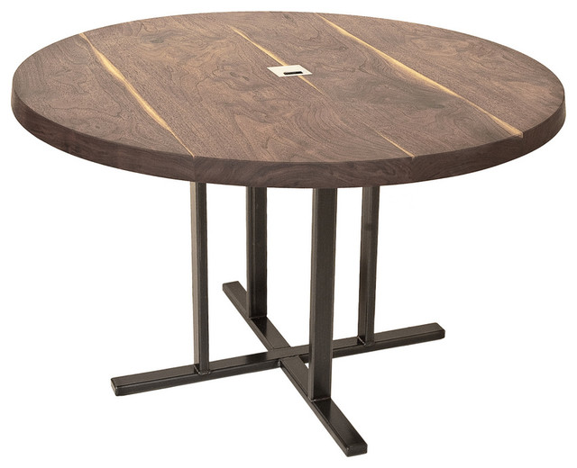 Dining table round dining table contemporary for Modern round dining table