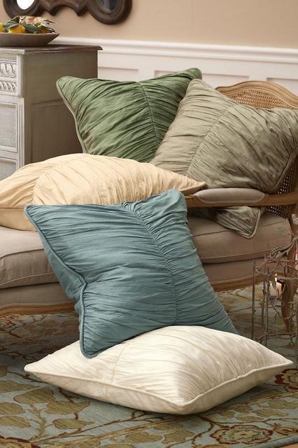 Silk Provencal Euro Sham traditional-pillowcases-and-shams