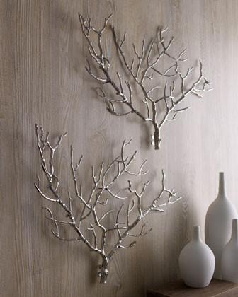 Arteriors Tree Branch Wall Decor traditional-plants