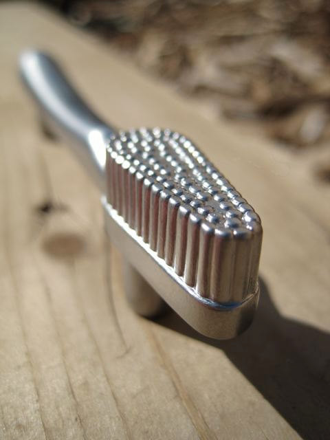 Drawer Pull, Tooth Brush by DaRosa Creations eclectic-cabinet-and-drawer-handle-pulls