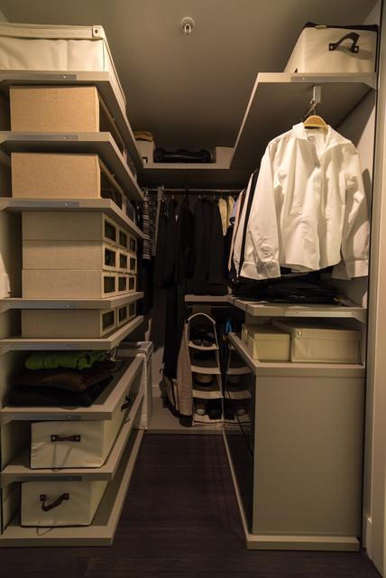"The ""W"" Residence contemporary-closet"