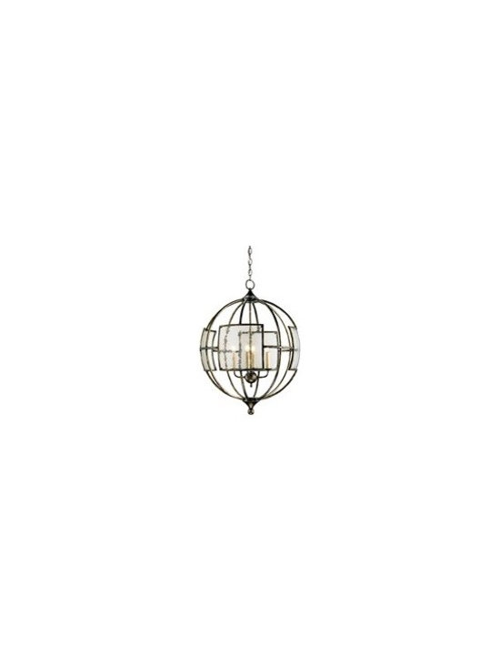 Currey and Company Broxton Orb Transitional Chandelier - CNC-9750 - Currey and Company Broxton Orb Transitional Chandelier - CNC-9750
