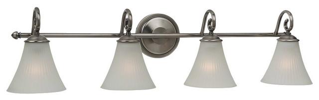 Sea Gull Lighting 44938-965 Joliet Antique Nickel 4 Light Vanity transitional-bathroom-lighting-and-vanity-lighting