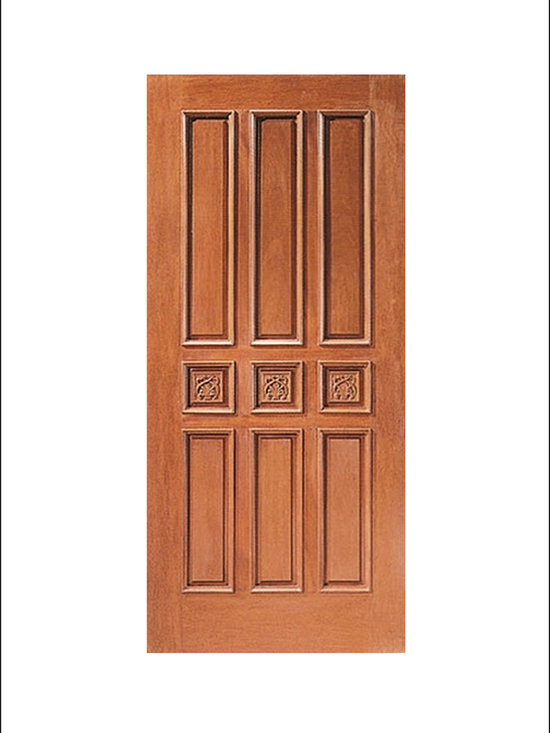 Carved and Mansion Entry Doors Model # 9 -