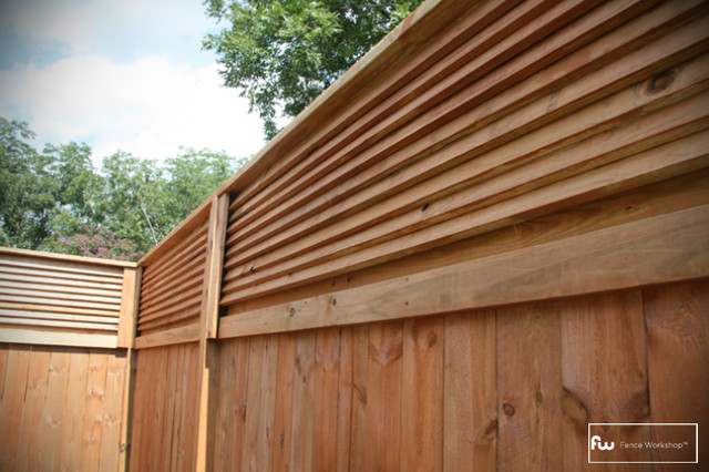The Stanton Wood Privacy Fence - Home Fencing And Gates - atlanta - by ...