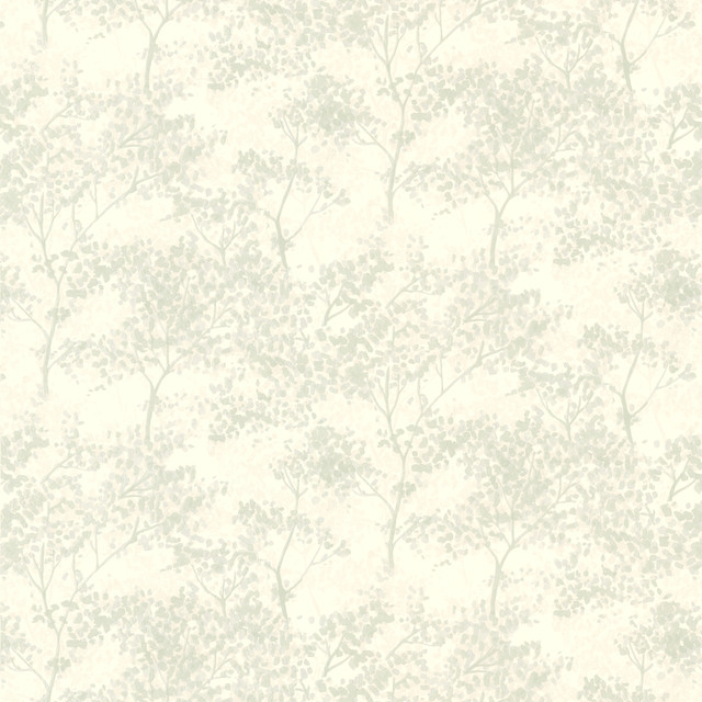 Kitchen Bed Bath Resource IV Tree Wallpaper contemporary-wallpaper